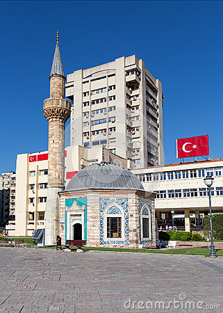 Konak Mosque, Izmir, Turkey