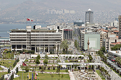 Konak square of Izmir