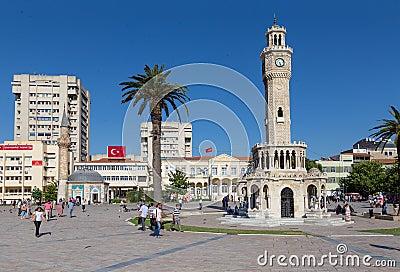 Konak square, Izmir, Turkey Editorial Stock Photo