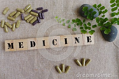 Ziołowych medycyn pojęcie