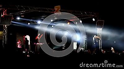 Koncertowy Xzibit przy festiwal grami