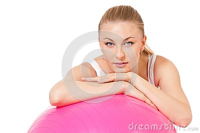 Konditionkvinna