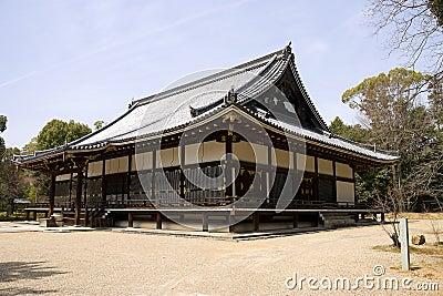 Kondo main hall in Ninna-ji temple, Kyoto, Japan.