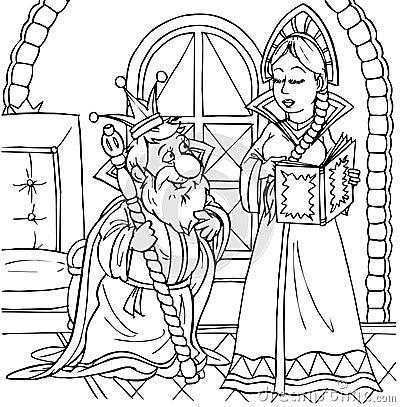 Koning en prinses