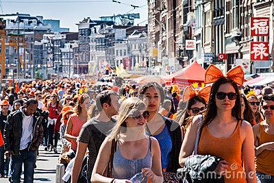Koninginnedag 2012 Editorial Stock Image