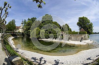 Konstanz City at Lake Constance