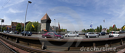 Konstanz City at Lake Constance Editorial Stock Photo