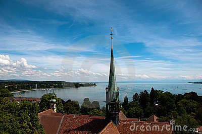 Konstanz - View at Lake Constance