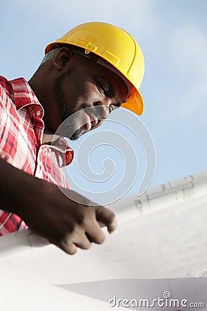 Konstruktion planerar avläsning
