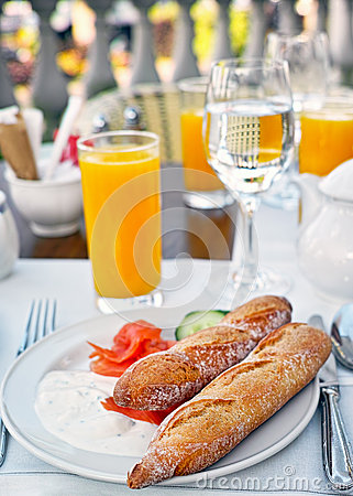 Kontinental frukost