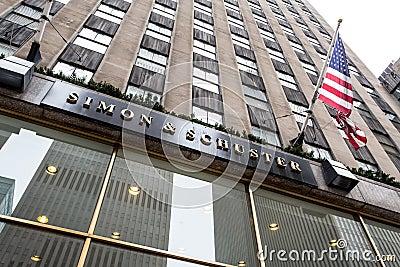 Simon & Schuster Redaktionell Foto