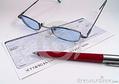 Kontrole okularów długopis
