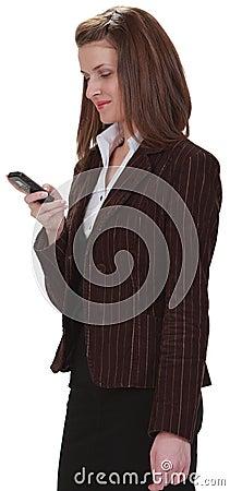 Kontrollera den mobila telefonen