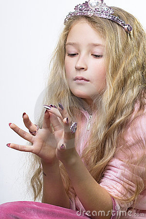 Kontrollera fingret spikar