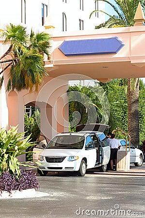 Kontrollera hotellet