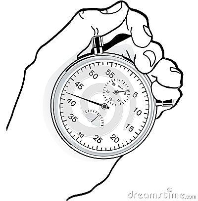 Kontrollera tid till
