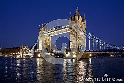 Kontrollturm-Brücke - London - Großbritannien