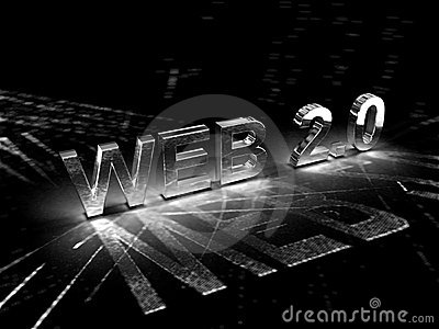 Konzept-Abbildung des Web-2.0