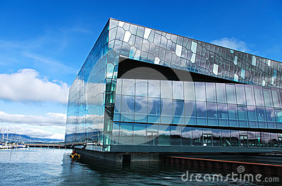 Konzertsaal in Reykjavik