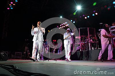 Kool and the Gang Editorial Stock Photo