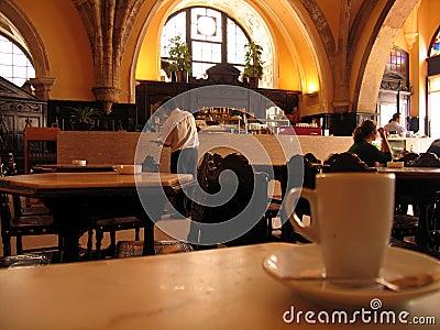 Kop van coffe