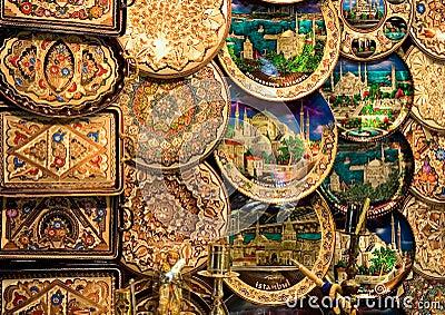 Koper decoratieve platen royalty vrije stock foto 39 s afbeelding 37613308 - Decoratieve platen ...