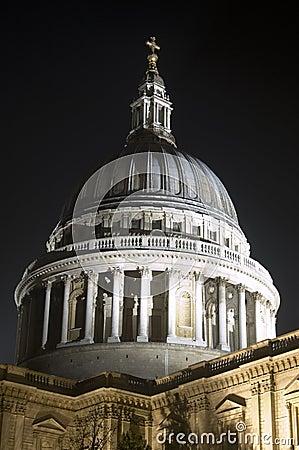 Kopuła Świątobliwy Paul, miasto Londyn