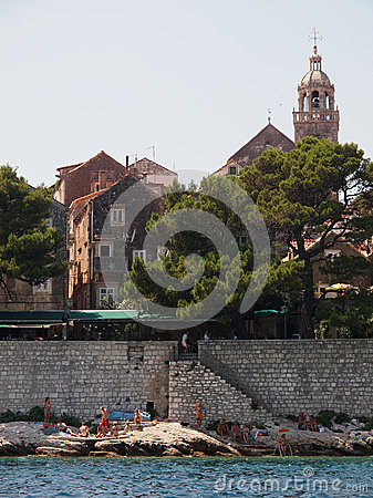 Korcula, Croatia Editorial Image