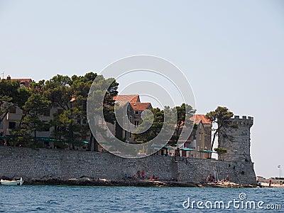 Korcula, Croatia Editorial Photo