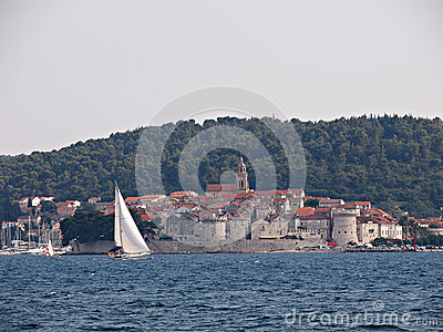 Korcula, Croatia Editorial Stock Image