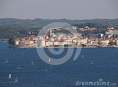 Korcula, Croatia Editorial Photography