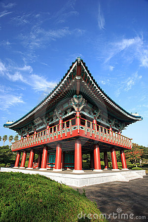 Free Korea Traditional Building,Jeju Volcanic Island Stock Image - 16044281