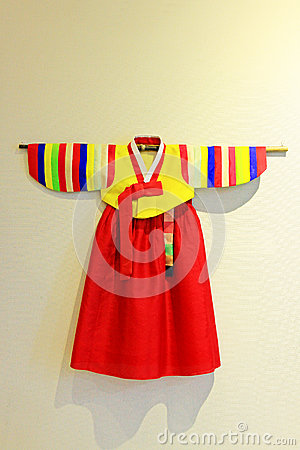 Free Korea Traditional Hanbok Clothes Royalty Free Stock Photography - 92733907