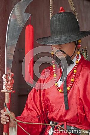 Korean ancient warrior