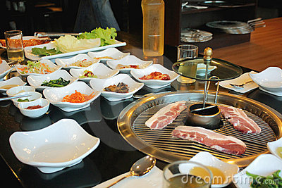 Korean Barbecue Food