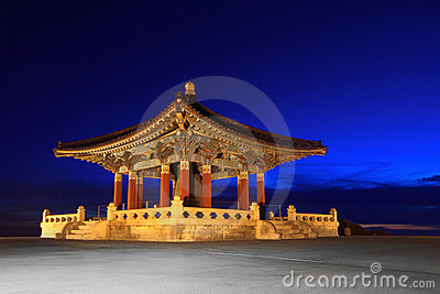 Korean Friendship Bell Landmark in San Pedro Calif