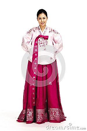 Free Korean Lady Stock Photography - 869872