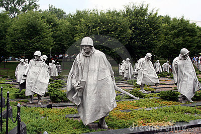Korean Memorial Editorial Photo