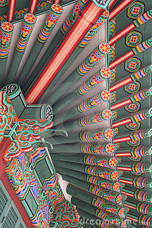 Free Korean Palace Royalty Free Stock Photography - 679367