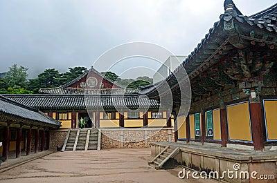 Korean Temple Editorial Photography