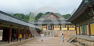 Korean Temple Editorial Photography