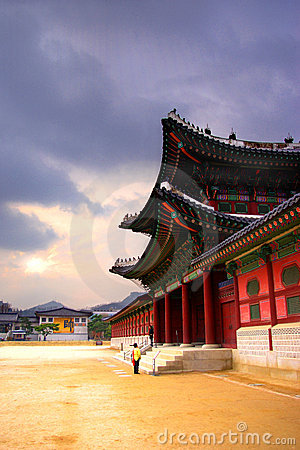 Free Korean Traditional Architecture Stock Image - 4857551