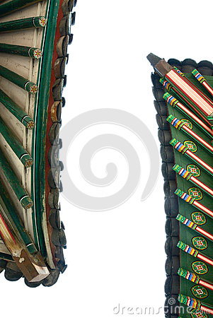 Free Korean Traditional Roof Royalty Free Stock Photos - 29119028