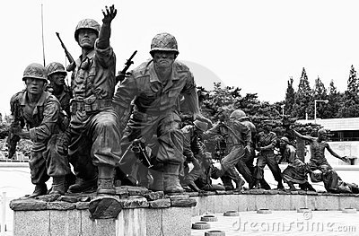 Korean War memorial, Seoul