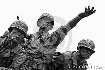 Korean War memorial, Seoul