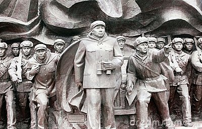 Korean War Memorial statues Editorial Photo