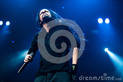 Korn concert Editorial Stock Photo