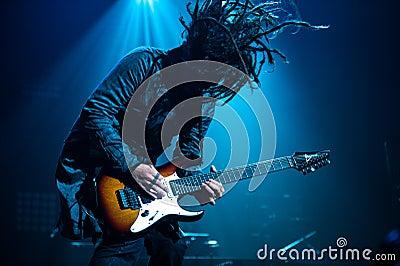 Korn concert Editorial Photography