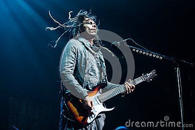 Korn concert Editorial Photo