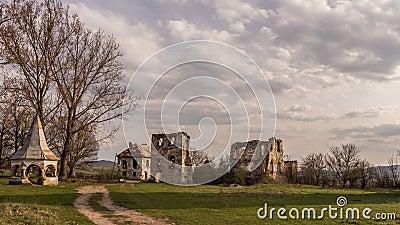 Kornis Castle stock video